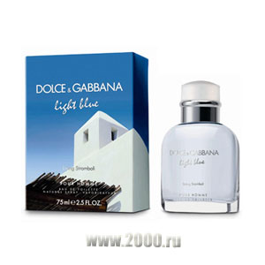 D&G Light Blue Living Stromboli Pour Homme от Dolce & Gabbana Туалетная вода 40 мл